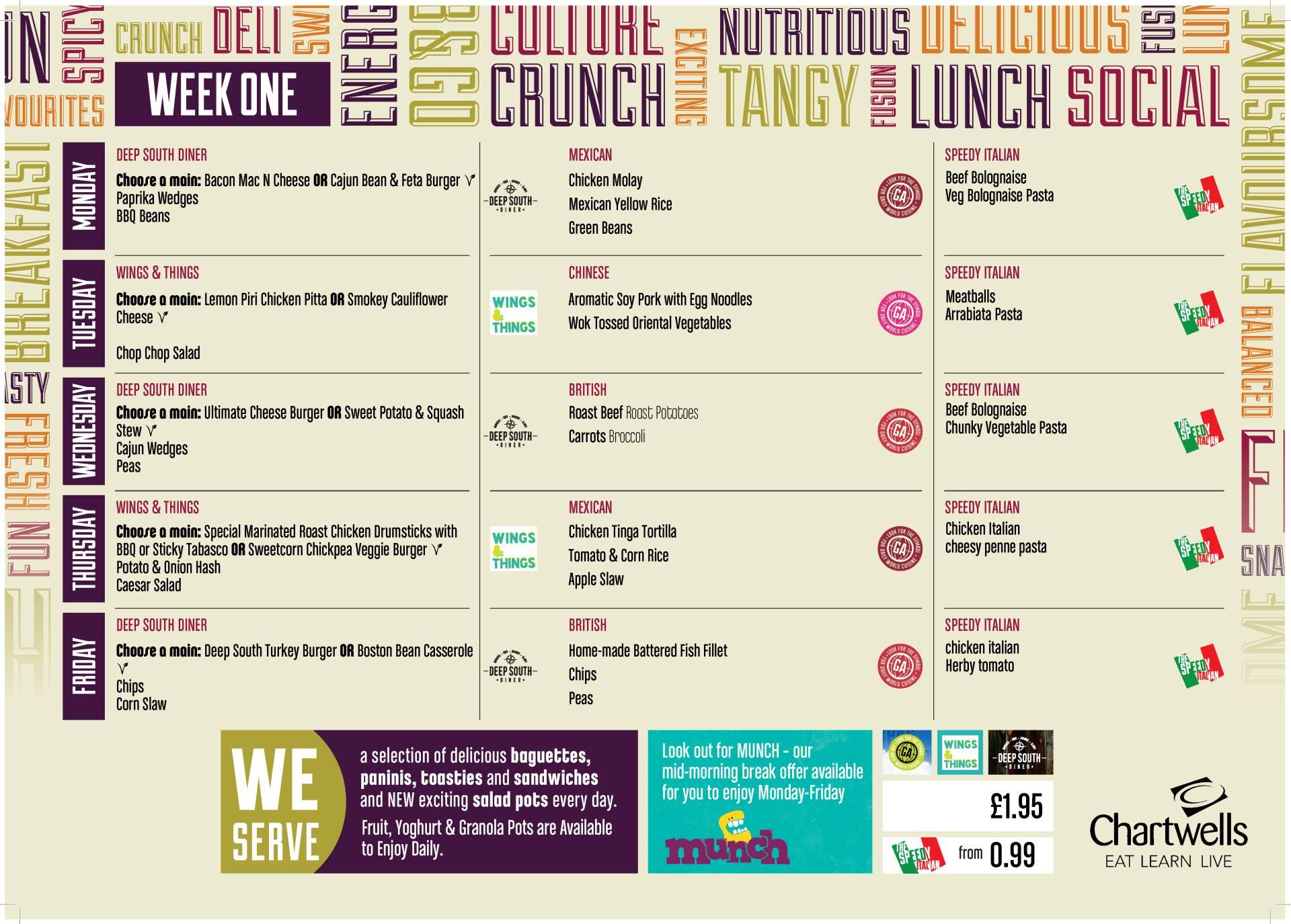 Clevedon School - School Meals
